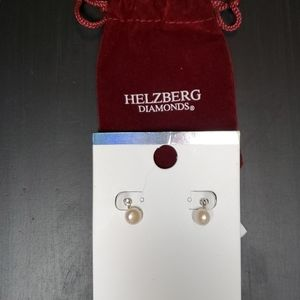 Helzberg Diamonds Pearl Studs